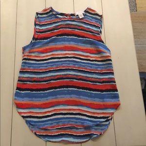 Colorful stripe top